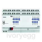 RM 16 T KNX  16x16A universal